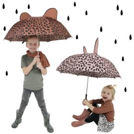 Paraplu pink leopard
