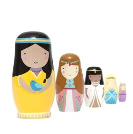 Nesting dolls prinses