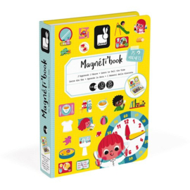 Magneetboek klok kijken