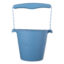 Scrunch Bucket blauw