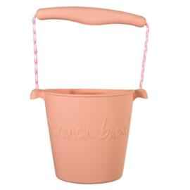 Scrunck Bucket lichtroze