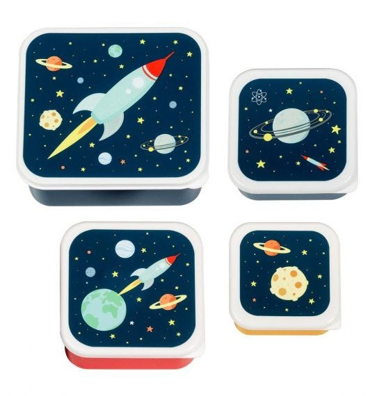 Lunch & snack box set space