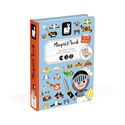 Magneetboek verkleedfeest jongen