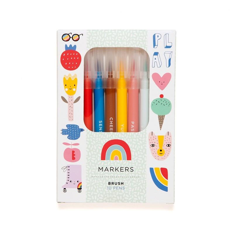 Brush pennen