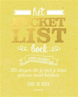 Bucket list boek voor ouders