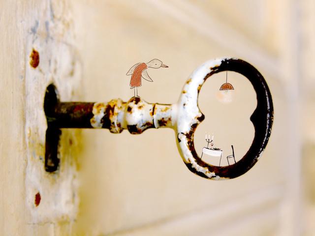 Verderkijker sleutel