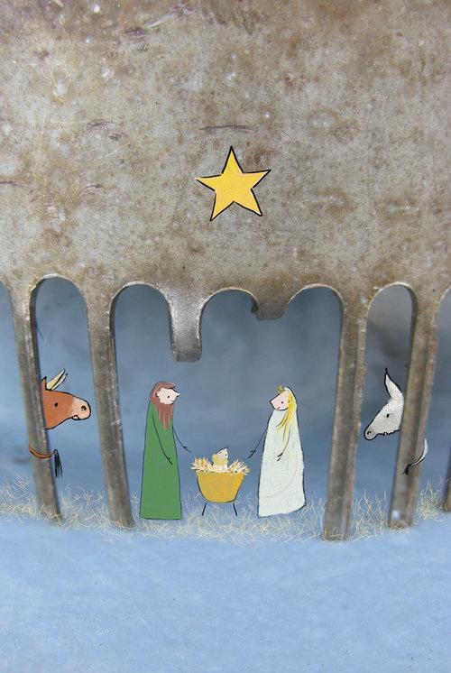 Verderkijker kerststal
