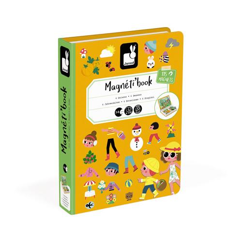 Magneetboek 4 seizoenen