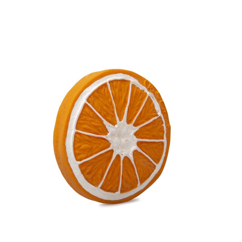 Badspeeltje / bijtspeeltje sinaasappel