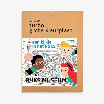 Turbo kleurplaat Rijksmuseum