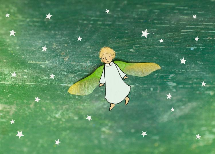 Verderkijker engeltje