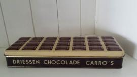 Zeer oud blik van A. Driessen Chocolaadfabrieken