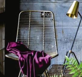 PTMD Trey brass Iron table lamp black leg
