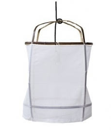 Ay illuminate - Z5 bamboo cotton cover - Ø 42CM, H: 57CM