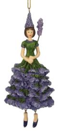 Meander Lavendel meisje hanger