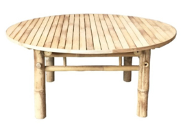Bamboo lounge table 100 x H 45 cm -  TineKhome
