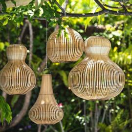 Hanglamp bamboe Pumkin XL- Manggis