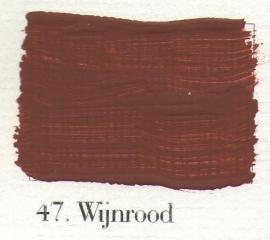 L'Authentique krijtverf - nr. 47 - Wijnrood