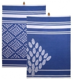 Kiem - Tea Towel theedoek - Hamam Aqua - set van 2