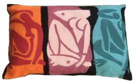 Kussen wol Matisse Multi