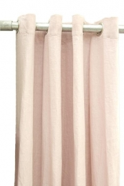 Curtain linen old pink 140 x 290