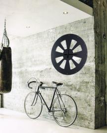 Art sensation Industriële Propeller-klok