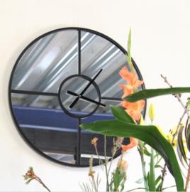 Art Sensation Industriële spiegelklok