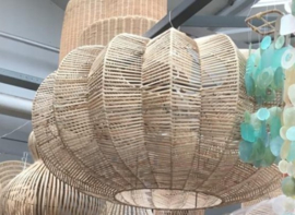 Rotan hanglamp ribbon medium
