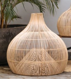 Rotan hanglamp Dome medium