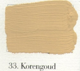 L'Authentique krijtverf - nr. 33 - Korengoud
