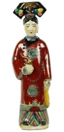 Beeld - Keizerin - rood
