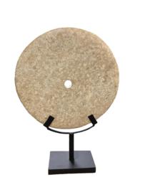 Hard stenen wiel op standaard L