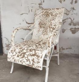 Louisiana chair - white distressed - Cofur