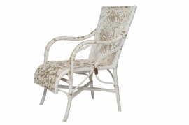Louisiana chair - white distressed - Cofur