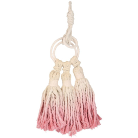 Hanger Mandalle dip dye roze