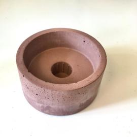 Rustik Lys Kandelaar concrete brown