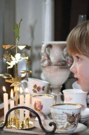 Angel chimes goud kerstmolen - Kitchen trend