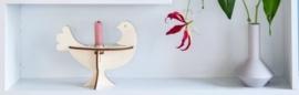 Studio Roof - kandelaar vogel - populier