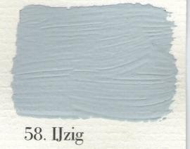 L'Authentique krijtverf - nr. 58 - IJzig