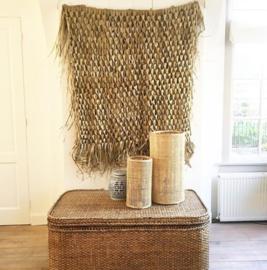 Wandkleed gevlochten palmblad 120cm