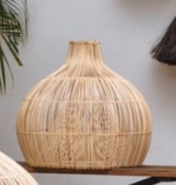 Rotan hanglamp Dome small