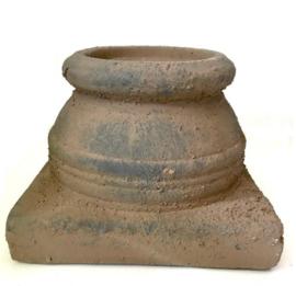 Brynxz sobere poer kandelaar old brown 14 cm