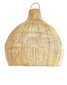Rotan hanglamp Dome small