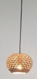 Kokosnoot hanglamp met kleine gaatjes