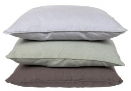 MrsBloom - Linen/Cotton Cushion dark grey