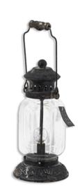 Lantaarn windlicht met led lamp op batterij