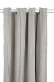 Gordijn Vintage Linen Curtain Denise natural 140x290 - MrsBLOOM
