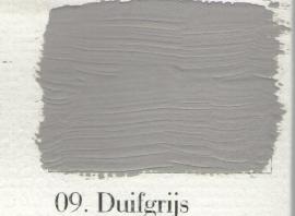 L'Authentique krijtverf - nr. 09 - Duifgrijs