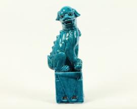Blue lion dog Rechts - beeld