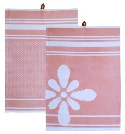 Kiem - Tea Towel theedoek - Hamam Blossom - set van 2